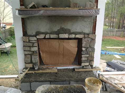 Pre Made Outdoor Fireplace by Outdoor Fireplace