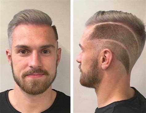 aron ramsey haircut best jokes aimed at arsenal s aaron ramsey after his new