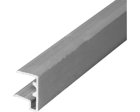 kantenschutz fliesen alu kantenschutz mit tropfnase f 252 r 16 mm platten l 228 nge 980