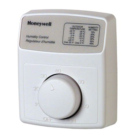 honeywell bath fan control honeywell humidistat humidifier control h8908b the home