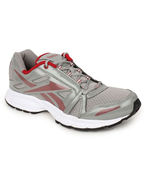sports shoes reebok reebok grey sports shoes available at snapdeal for rs 3599