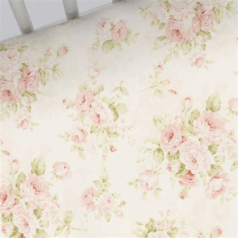 floral bed sheets pink floral crib sheet carousel designs