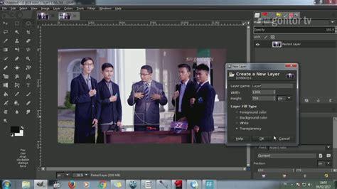 download video tutorial dasar photoshop tutorial gimp untuk pemula youtube