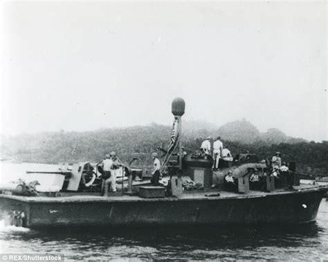 jfk navy boat jfk s wwii pt boat is at the bottom of the harlem river