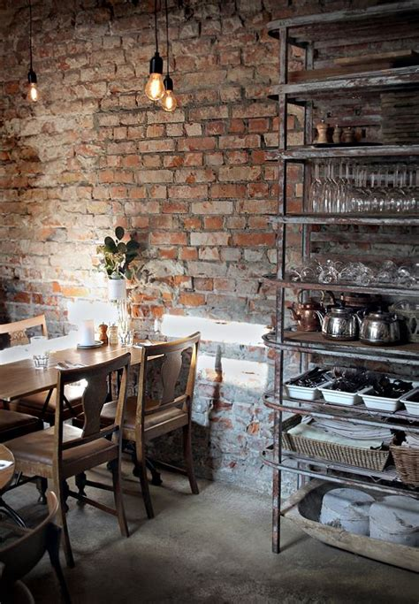 exposed brick wall lighting 19 coffee shop and cafe interior design must see images