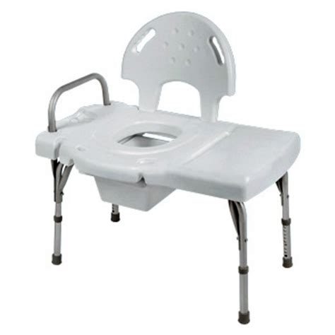 transfer bench with commode invacare invacare heavy duty transfer bench with commode