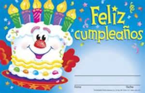 Awards spanish happy birthday cake t 81036