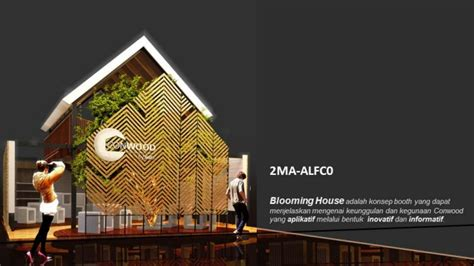 booth design competition blooming house booth conwood design competition 2015 by