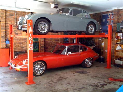 Autolift Garage by Custom Garage Storage That Makes Money 171 Garage By