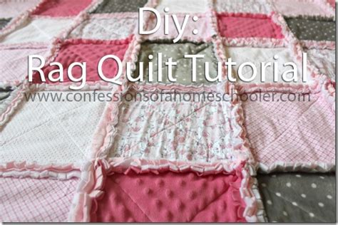 Rag Quilt Diy by How To Make A Rag Quilt Tutorial Confessions Of A