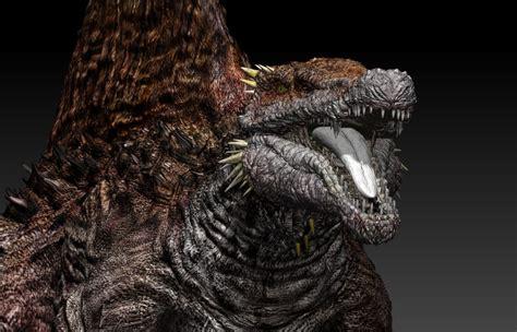 spinosaurus godzilla size  obj