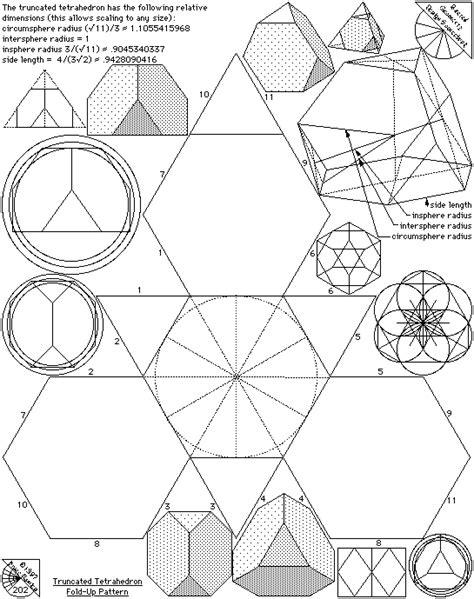 figuras geometricas universales s 243 lidos de arqu 237 medes pliegan patrones el c 243 digo