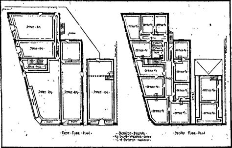 butcher shop floor plans flats saved the woessner historic indianapolis all