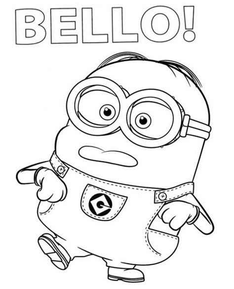 coloring pages minion stuart minion tim varityskuva minion coloring pages stuart