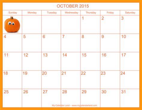 9 best images of october calendar printable 2015 free 5 best images of 2015 calendar printable october halloween