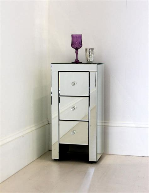 small bedside tables cute small bedside tables ideas narrow mirrored bedside