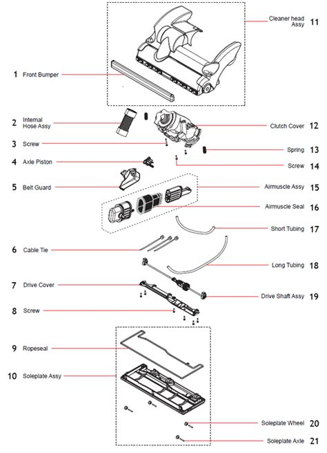 dyson dc28 parts diagram dyson dc28 partswarehouse