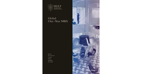 Hult 1 Year Mba by Hult Global One Year Mba 2018
