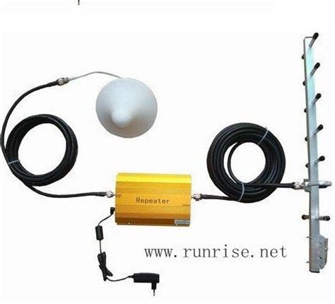 900 square in meters with cable antenna 1000 square meters work gsm booster gsm repeater 900mhz booster gsm signal
