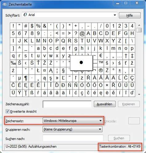 sonderzeichen tabelle windows tastenkombinationen f 252 r sonderzeichen shortcuts