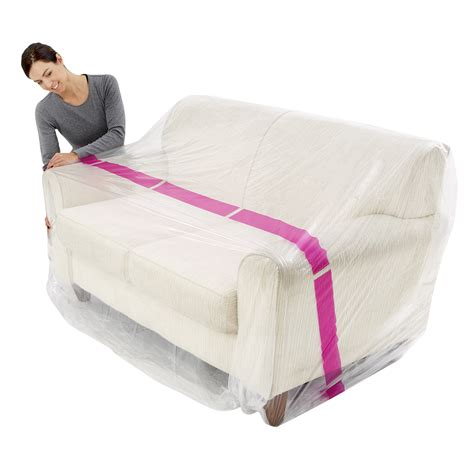 plastic couch cover furniture cover 3 seater couch pack of 1 plastic