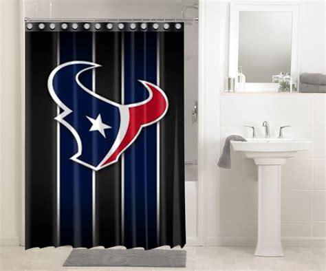 houston texans nfl football 568 shower curtain waterproof