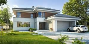 garten holzhäuser einfamilienhaus grundrisse mit garage kreative ideen f 252 r