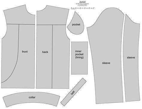 jacket pattern sd bjd soom supergem biker jacket by scargeear on deviantart