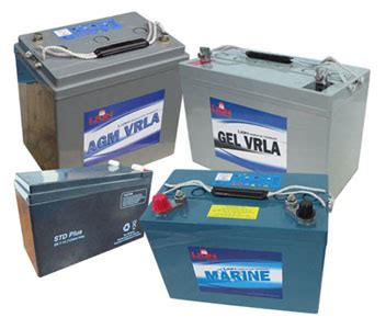 Gel Mat Battery by Batteries Supplier Sydney Marine Cycle Traction Solar