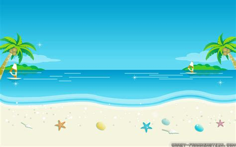 wallpaper cartoon beach beach wallpaper cartoon 5911 image pictures free