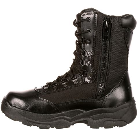 rocky boots rocky fort s 8 inch black waterproof work boots