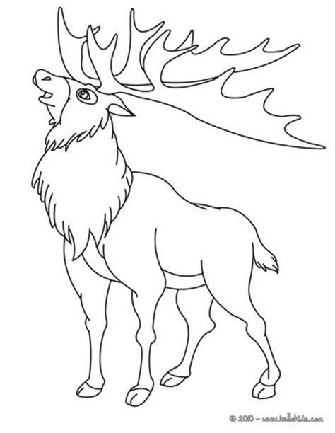 reindeer coloring pages online reindeer coloring pages hellokids com