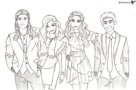 Descendants Printable Pictures