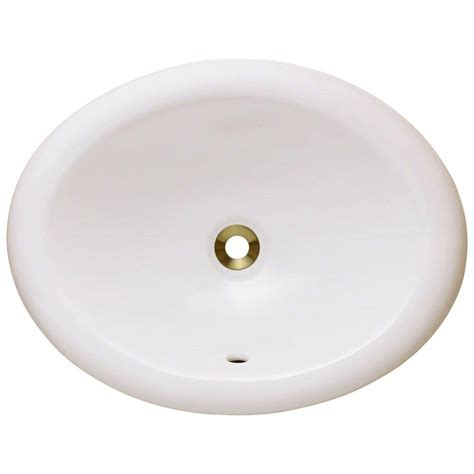 overmount bathroom sink polaris sinks overmount porcelain bathroom sink in bisque