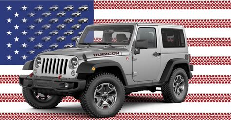 who is jeep made by jeep wrangler and top cars s american made index