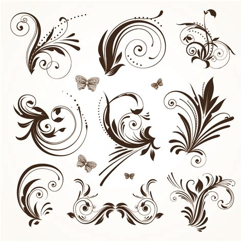 european style lace pattern vector background practical lace pattern vector classic europeanstyle free