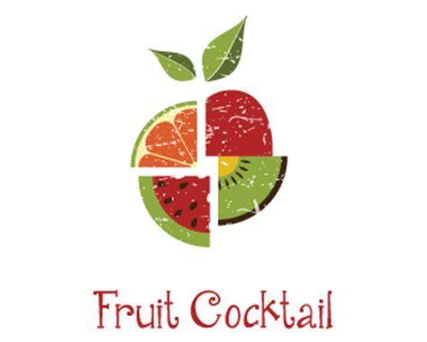 fresh fruit cocktail juice designed  dalia brandcrowd