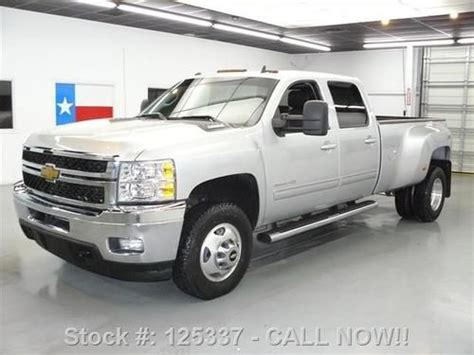 how to fix cars 2012 chevrolet silverado 3500 electronic valve timing find used 2012 chevy silverado 3500 ltz 4x4 diesel dually sunroof texas direct auto in stafford