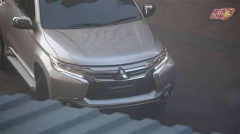 Column Stering Mitsubishi Triton Dibawah 2015 Pajero Sport 2016 mitsubishi pajero sport revealed 187 motoroctane