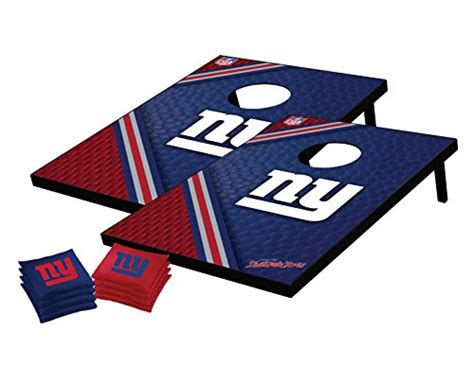sports nfl bean bag toss nfl new york giants tailgate toss bean bag set