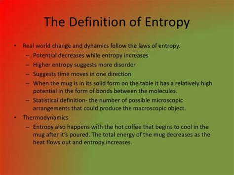 Entropy Presentation
