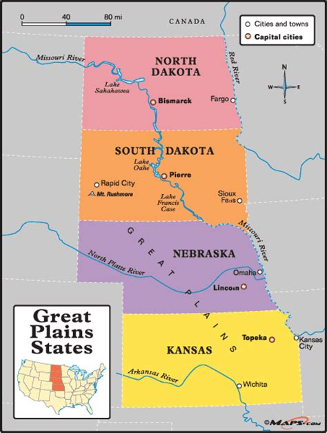 physical map of the united states great plains great plains states map by maps com from maps com world
