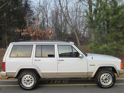 1995 Jeep Country Sell Used 1995 Jeep Country 4x4 Leather Clean