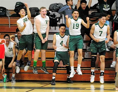 section v boys volleyball st patrick st vincent high boys volleyball team advances