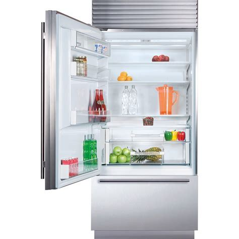 "Sub Zero BI 36U/S/PH LH 36"" Built In Bottom Freezer"