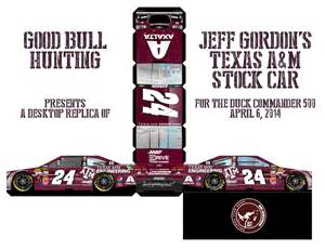 texas a amp m desktop cutout jeff gordon s aggie stock car