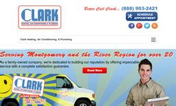 Clark Heating And Plumbing by Clark Heating Air Conditioning Plumbing On Oliver Rd In
