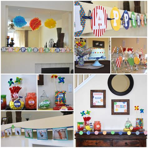 birthday decor at home elijah s first birthday a colorful celebration