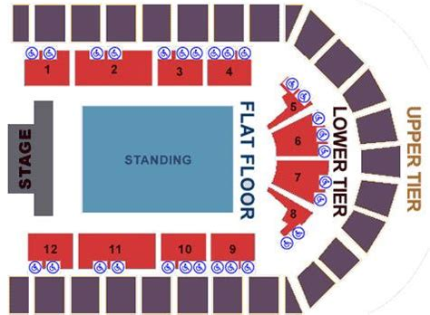 nia birmingham floor plan national indoor arena seat plan for strictly come dancing