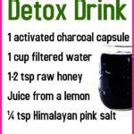 Activated Charcoal Detox Drink Recipe by Detox Green Juice Recipe For Skin Hair
